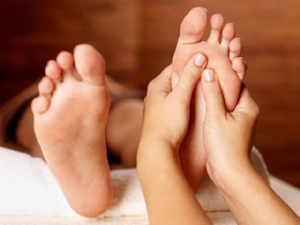 Massage intuitif des pieds