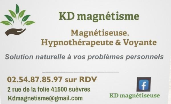 KD magnétisme  Suèvres